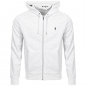 Product Image for Ralph Lauren Full Zip Hoodie Grey