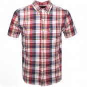 Product Image for Levis Short Sleeved Classic One Pocket Shirt Red