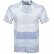 Product Image for Levis Short Sleeved Cubano Shirt Blue