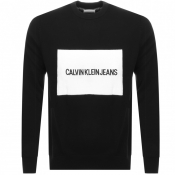Product Image for Calvin Klein Jeans Institutional Knit Jumper Black