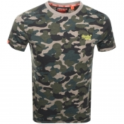 Product Image for Superdry Vintage Logo T Shirt Khaki