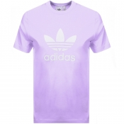 Product Image for adidas Originals Trefoil T Shirt Lilac