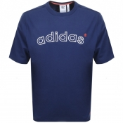 Product Image for adidas Originals 90s ARC Logo T Shirt Navy