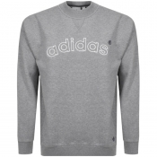 adidas Originals 90s ARC Logo Sweatshirt Grey