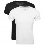 Product Image for Gant Two Pack V-Neck T Shirt White