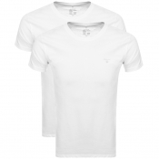 Product Image for Gant Double Pack Crew Neck T Shirt White