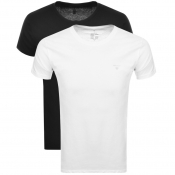 Product Image for Gant Double Two Pack Crew Neck T Shirt White