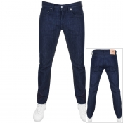 Product Image for Edwin ED55 Regular Tapered Rinsed Jeans Blue