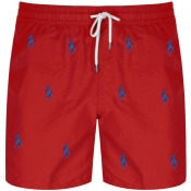 Product Image for Ralph Lauren Traveller Swim Shorts Red