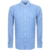Ralph Lauren Linen Shirt Blue