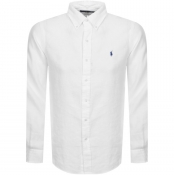 Product Image for Ralph Lauren Linen Shirt White