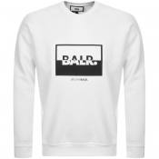 Product Image for BALR Contrasting Logo Sweatshirt White