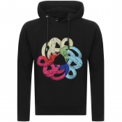 Product Image for Just Cavalli Snake Hoodie Black