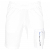 Product Image for EA7 Emporio Armani Logo Series Shorts White