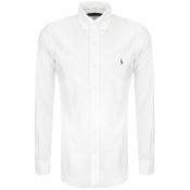 Product Image for Ralph Lauren Slim Fit Oxford Shirt White