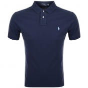 Product Image for Ralph Lauren Slim Fit Polo T Shirt Navy
