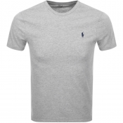 Product Image for Ralph Lauren Crew Neck Custom Fit T Shirt Grey