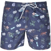 Product Image for Ted Baker Arktic Swim Shorts Navy