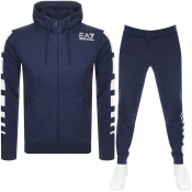 Product Image for EA7 Emporio Armani 7 Lines Tracksuit Navy