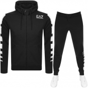 Product Image for EA7 Emporio Armani 7 Lines Tracksuit Black