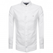 Product Image for Tommy Hilfiger Long Sleeved Dobby Shirt White