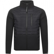 Product Image for Tommy Hilfiger Bonded Mix Media Jacket Black