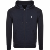 Product Image for Ralph Lauren Full Zip Hoodie Navy