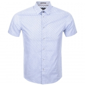 Product Image for Ted Baker Short Sleeved Rakoon Shirt White