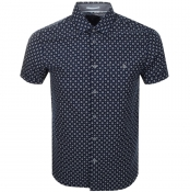 Product Image for Ted Baker Short Sleeved Polarbe Shirt Navy