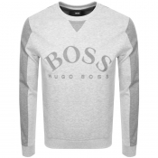 Product Image for BOSS Athleisure Salbo Sweatshirt Grey