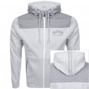 Product Image for BOSS Athleisure Saggy Full Zip Hoodie Grey