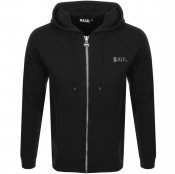 BALR Q Series Full Zip Hoodie Black
