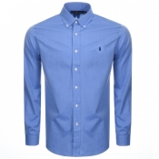 Ralph Lauren Long Sleeved Shirt Blue