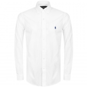 Product Image for Ralph Lauren Long Sleeved Slim Fit Shirt White