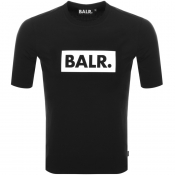 BALR Club Logo T Shirt Black