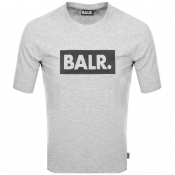 BALR Club Logo T Shirt Grey