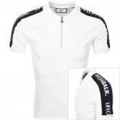 BALR Life Of A BALR Trimmed Polo T Shirt White