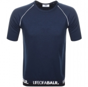 BALR Life Of A BALR Band T Shirt Navy