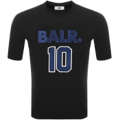 BALR 10 Logo T Shirt Black