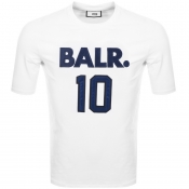 Product Image for BALR 10 Logo T Shirt White