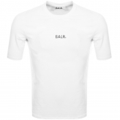 BALR Basic Logo T Shirt White