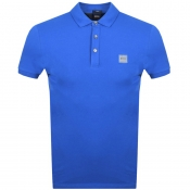 BOSS Casual Passenger Polo T Shirt Blue