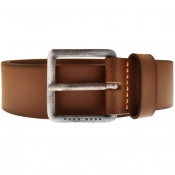 BOSS Casual Leather Jeeko Belt Brown