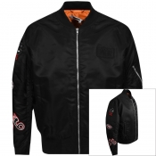 MCQ Alexander McQueen Badge MA1 Jacket Black