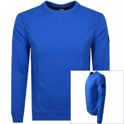 BOSS Casual Walkup Sweatshirt Blue