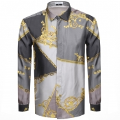 Product Image for Versace Collection Long Sleeved Shirt Grey