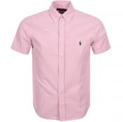 Product Image for Ralph Lauren Short Sleeved Stripe Shirt Pink