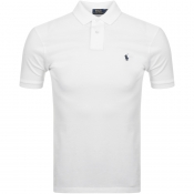 Ralph Lauren Slim Fit Polo T Shirt White