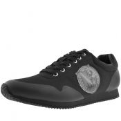 Product Image for Versace Jeans Logo Trainers Black