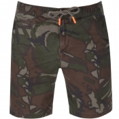 Superdry Sunscorched Shorts Khaki